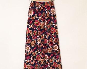 70s CELINE SAMPLE - Maxi Skirt- xs