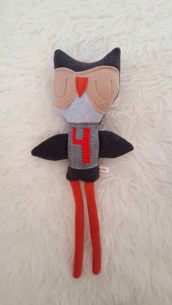 Oscar the Owl softie doll, plush toy