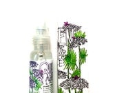 Queen Anne's Lace Floral Toner + Body Mist . natural skin care