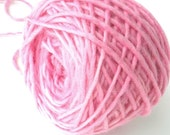 Bulky Yarn Hand Dyed Bulky Wool Yarn - Light Pink