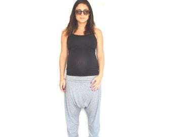 Loose hippie pants, Yoga hippie pants, Low crotch pants, Boho hippie pants, Long boho pants, Hippie harem pants, plus size harem pants
