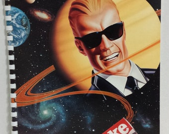 Vintage Authentic Coke Advertising Coca-Cola Max Headroom Spiral Notebooks 1986
