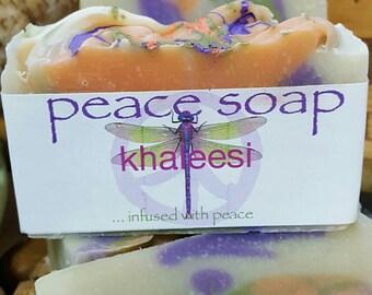 khaleesi peace soap