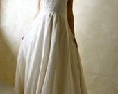 Rustic Wedding Dress, bridal gown, wedding gown, ballgown dress, A-line wedding dress, alternative wedding dress, floor length wedding dress