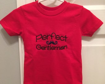 Perfect Gentleman Shirt or Onesie
