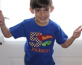 Hot Wheels Birthday Shirt - Boys First Birthday, Boy Birthday Shirt, Birthday Outfit, Hot Wheels Shirt, Hot Wheels Party, Race Car Birthday