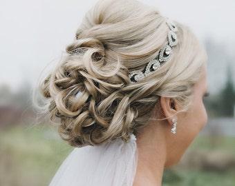 Bridal Headpiece, Bridal Headpieces, wedding headpiece, Rhinestone Headband, Wedding Headband, Bridal Hair Piece, Bridal Headpiece, silver