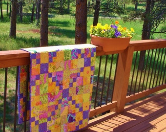 SUNNY-SIDE-UP!  Quilt  inspired by all New and Out of Production Kaffe Fassett Collective Fabrics.