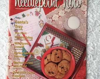 Christmas Needlepoint Magazine, Needlepoint Now Magazine November December 2012