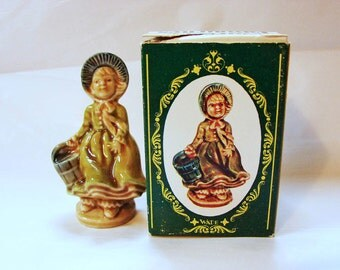 Wade Figurines JILL Large Wade Whimsies Made in England from Jack and Jill Wade Nursery Rhyme Figurine with Box Miniature Figurine