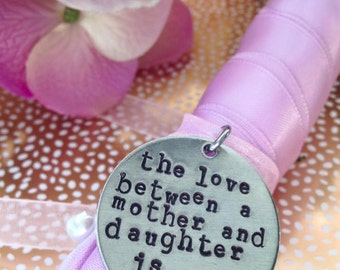 Mother of the Bride bouquet charm