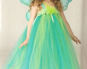 Simplicity S0336 Girl's Fairy Costume Sewing Pattern 4-8