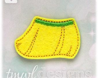 "Hula Skirt Feltie Digital Design File - 1.75"""