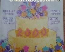 Wilton Cake Decorating Yearbook 2000 Special Millennium Edition Includes Millennium Cake  Stencil Wedding Cakes Birthday Cakes