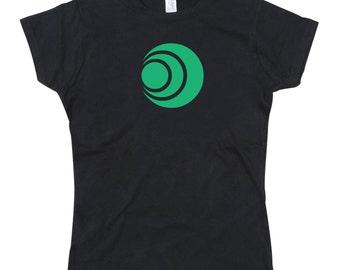 Ladies Zelda Inspired Goddess Farore Symbol Tshirt