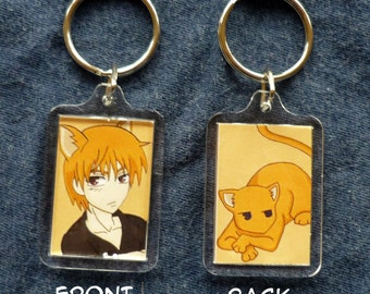 Fruits Basket - Kyo - Double-sided keychain