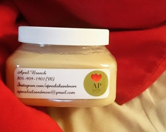 Raw Shea Butter, blended with any fragrance of your choice...