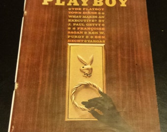 Vintage 1962 May Issue of Playboy Magazine