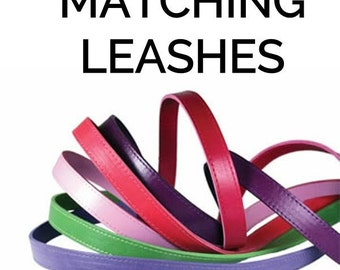 Add a Matching Leather Leash