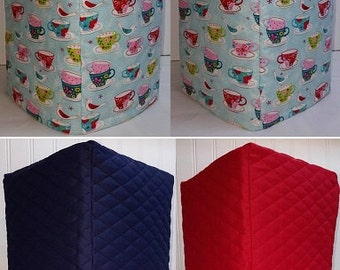 Birds & Teacups Bread Machine Cover (4 Colors Available)