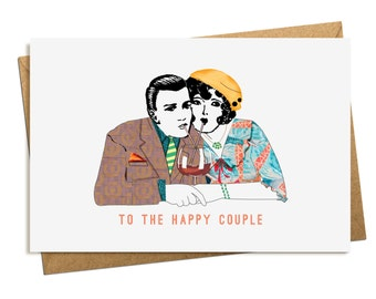 Engagement Card. Anniversary Card. Wedding Card.