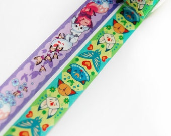 Springtime Floral Frolic Fox Butterfly Washi Tape