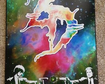 "Zeds Dead Galaxy Pulp Fiction Poster 12""x18"""