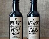 Bachelorette Party Wine Labels - Bachelorette Wine Labels - Set of 10