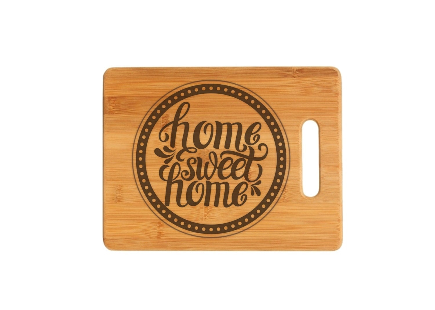 Home Sweet Home Personalized Cutting Board Family Sign