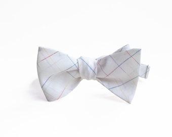 London Linen Men's Self-Tie, Men's Bow Tie