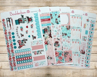 Classy Christmas | Planner Stickers | Weekly Planner Sticker Set | Christmas Sticker Set | Winter Sticker Set