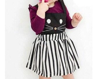 Button nose Cat Dress