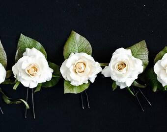 Flower polymer clay (Rowan Craft)