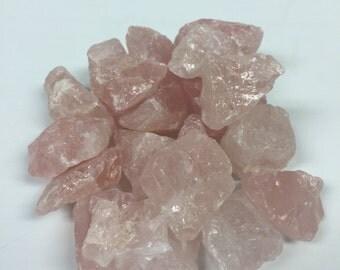 Raw Rose Quartz - Rough Rose Quartz - Rose Quartz Gemstone - Healing Crystal - Rose Quartz - 1lb