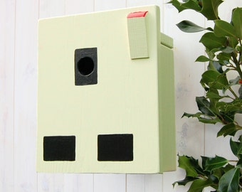 Dad's Electrical Socket Bird Box, Garden Gift