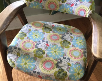 Retro Reupholstered Chair