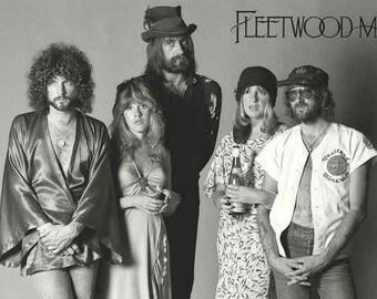 Fleetwood Mac Band Rare Poster