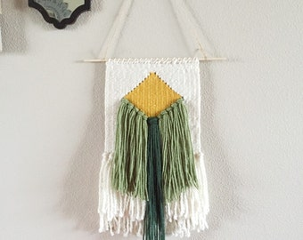 Woven Wall Hanging | Wall Art | Handwoven | Wall Tapestry