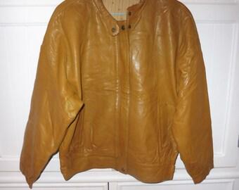 Leather jacket size 40-42