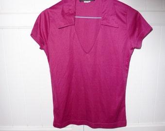 Tee shirt polo NAF NAF size 38 - 1980s