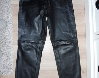 Leather pants size 40 (US 30)