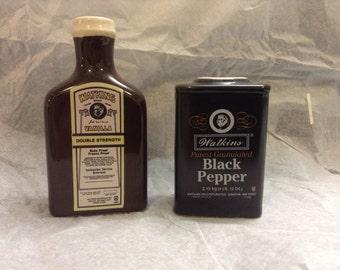 Vintage Watkins salt and pepper shaker
