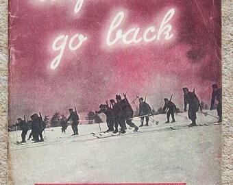 Before We Go Back scarce WW2 pamphlet  HMSO 1944