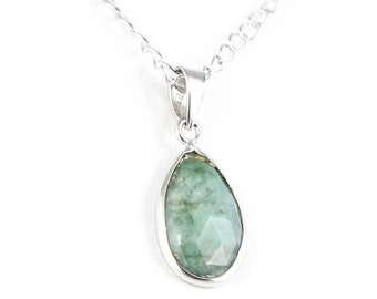 20% off Sale**** Genuine Emerald Necklace