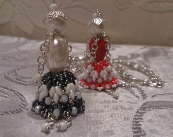 Pearl style necklace-Carose dolls