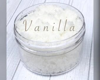 Vanilla Sugar Lip Scrub, lip scrub, sugar scrub, exfoliate