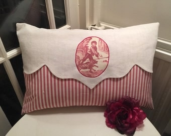 TOILE De JOUY PILLOW / Cushion