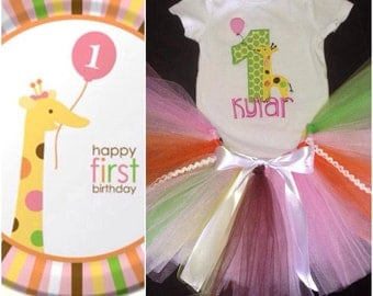 Customizable Birthday Tutu Set