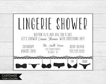 Bachelorette party invite, bachelorette party invitation, bachelorette invitation, printable invite lingerie shower girls night wedding