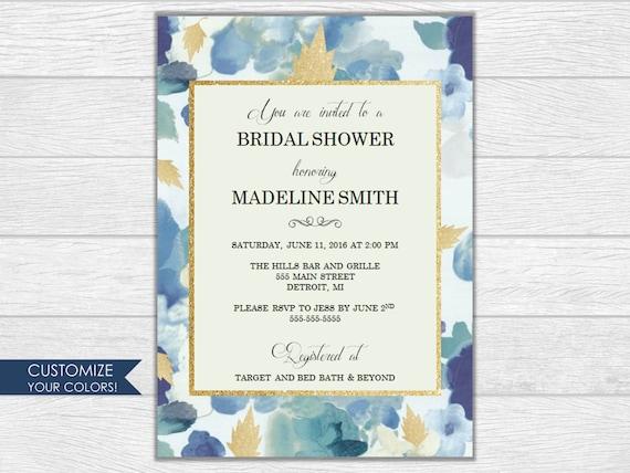 Bridal shower, bridal shower, bridal shower invitation, wedding, wedding invitation, printable invite, digital download, wedding shower